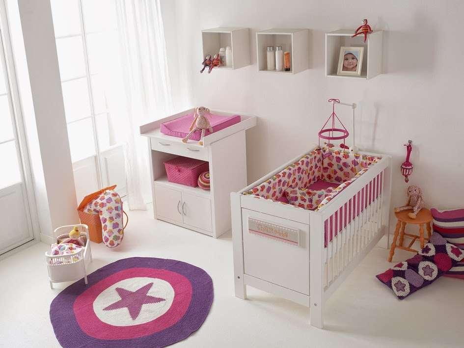 Camerette per neonati casa copenhagen - Schilderij slaapkamer meisje ...