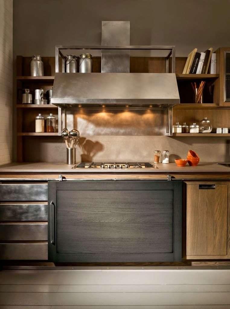 Cucine industrial chic firmate l 39 ottocento cucine - Industrial style cucine ...