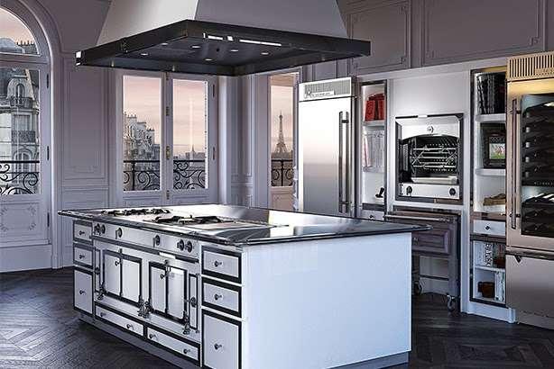 Cucine industrial la cornue for Arredamento stile parigino