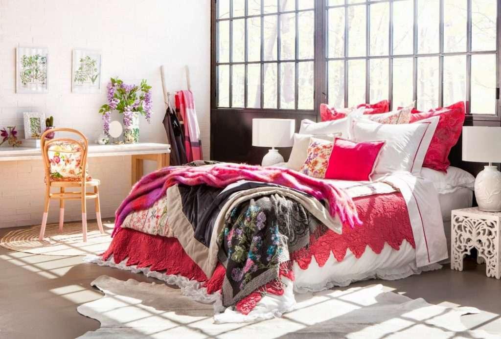 biancheria da letto zara home herbarium collection. Black Bedroom Furniture Sets. Home Design Ideas