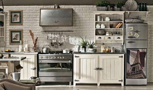 Le cucine industriali di dialma brown for Arredamento industriale vintage