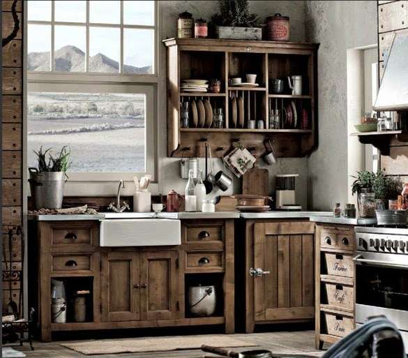 Le cucine industriali di dialma brown for Arredamento industriale ikea