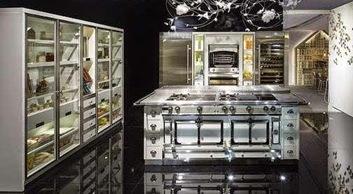 Cucine industrial la cornue - Cucine stile industrial chic ...
