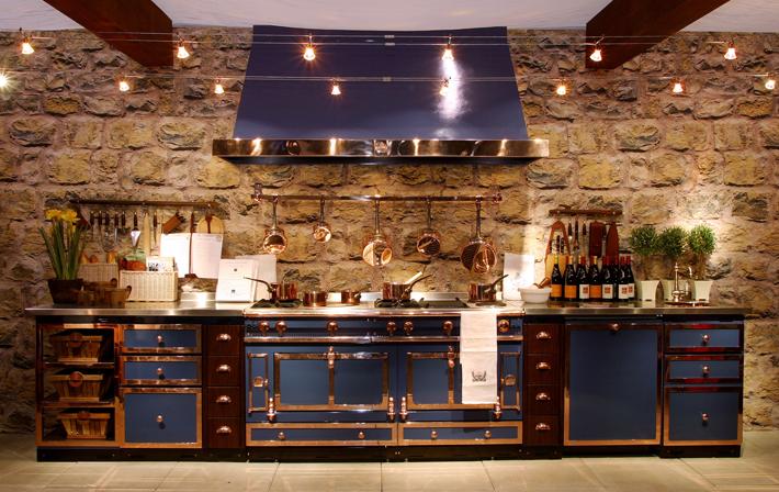 Industrial kitchen by la cornue for La kitchen delight
