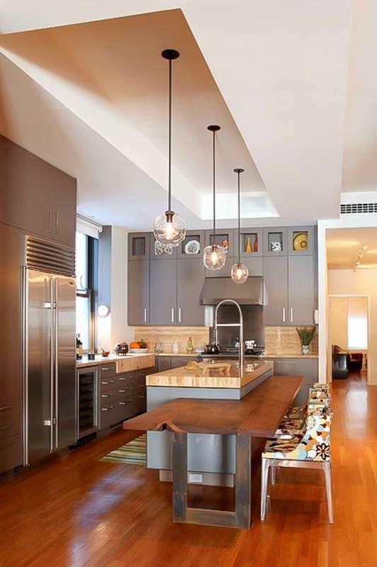 Cucina moderna ecco alcune proposte originali e accattivanti - Cucine con isola piccoli spazi ...