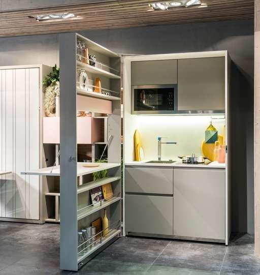 Clei soluzioni d 39 arredo e mobili trasformabili piccoli - Mobili per piccoli spazi ...