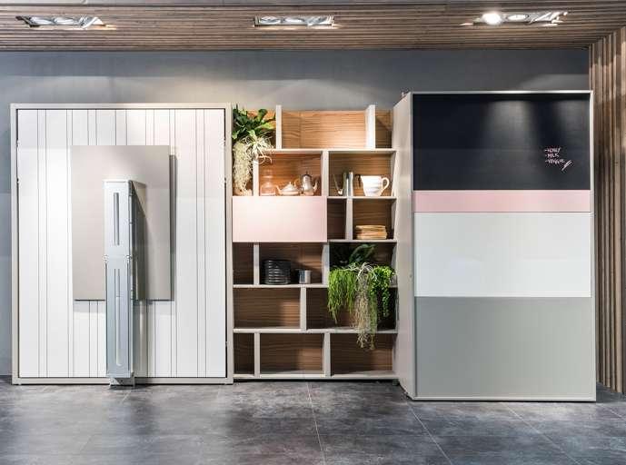 Clei soluzioni d 39 arredo e mobili trasformabili piccoli spazi - Mobili clei prezzi ...