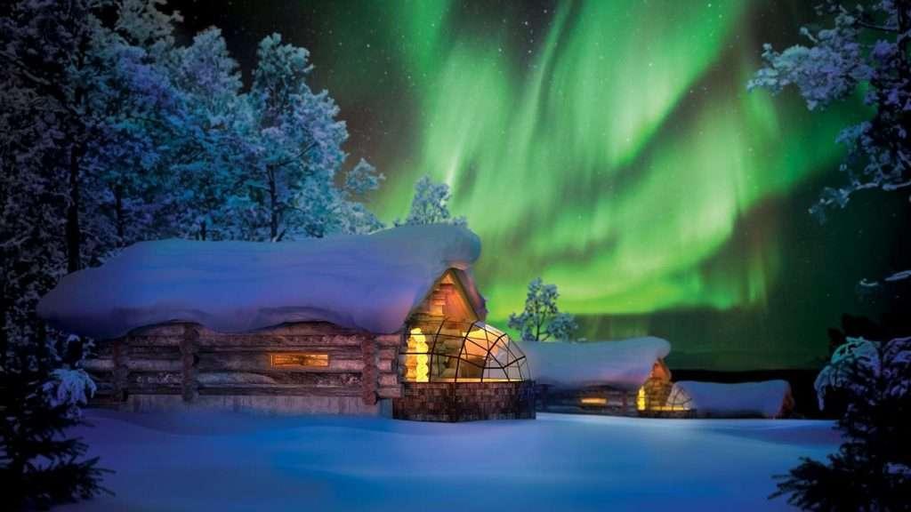 Kakslauttanen Arctic Resort & Igloo Village ***** in Lapland.