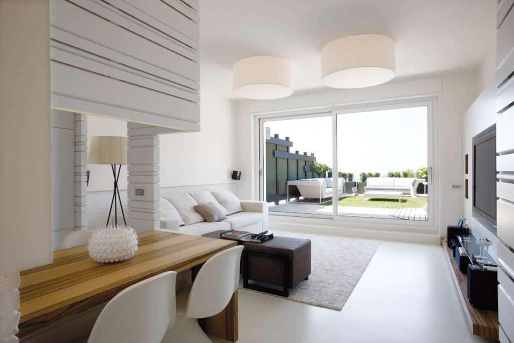 Numerose idee per arredare il soggiorno su for Idee arredo soggiorno moderno