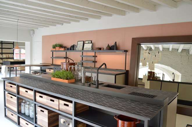 Boffi And Salinas The First Kitchen Signed By Patricia