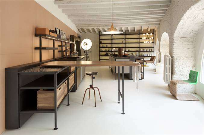 Boffi and Salinas,the first Kitchen signed by Patricia Urquiola