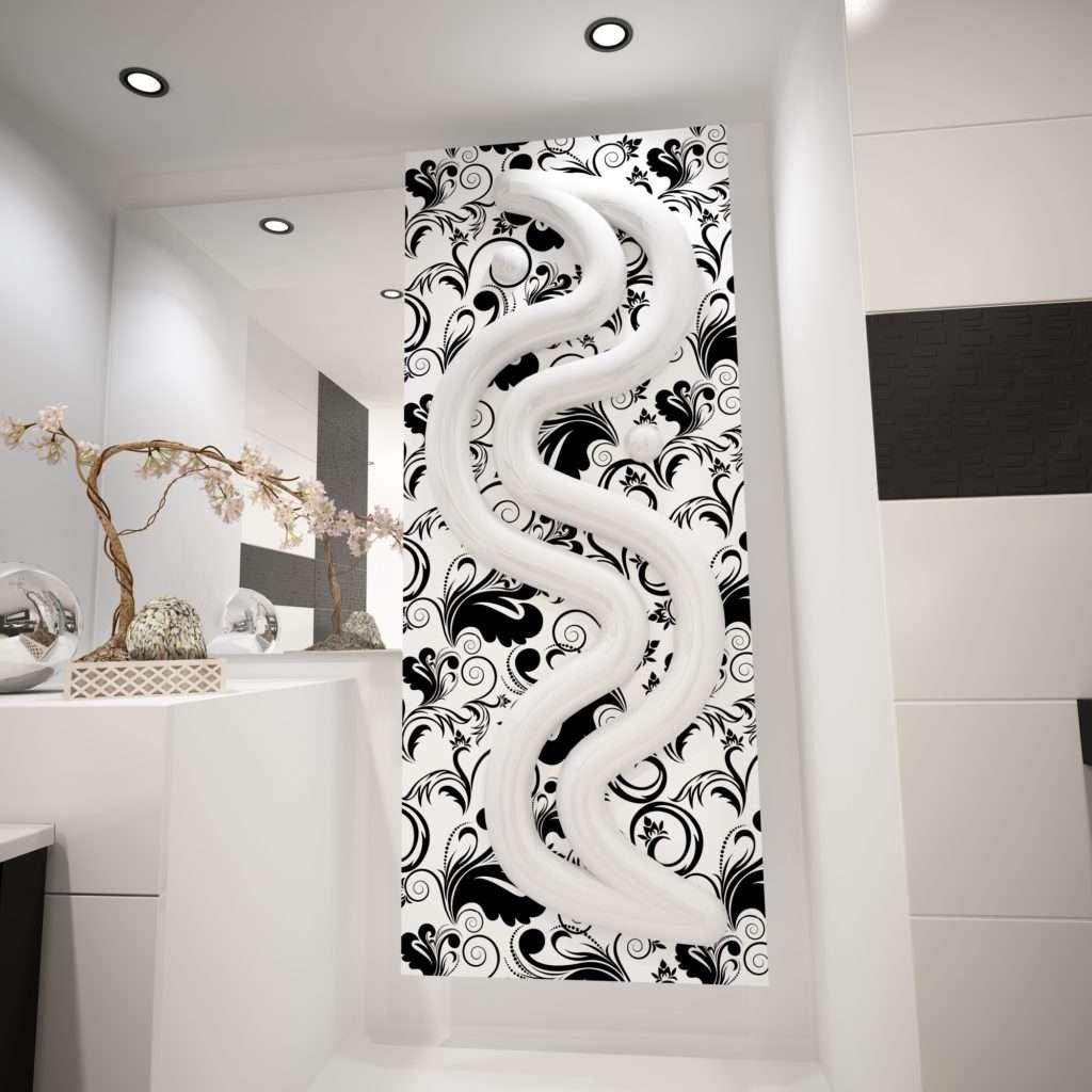Termoarredo di design thermo s sculptor by project the sign - Termoarredo bagno ...