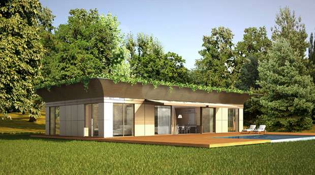 Luxury Prefabricated Homes by Philippe Starck