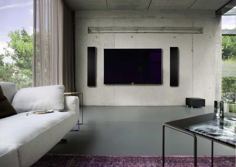 loewe reference 55 39 39 the new television set. Black Bedroom Furniture Sets. Home Design Ideas