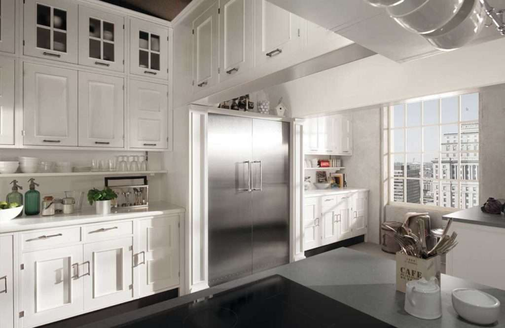 cucina montserrat marchi group cucina bianca in stile classico ...