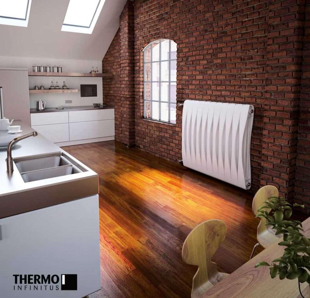 termo-arredo, project the sign, design, termosifone bianco
