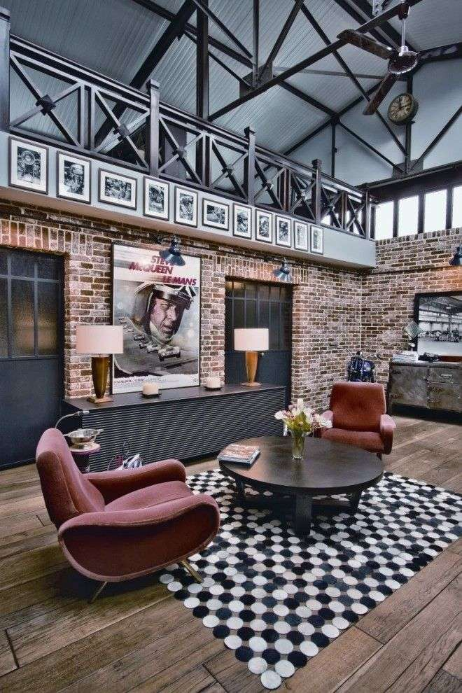 Un loft in stile industriale - spunti e idee