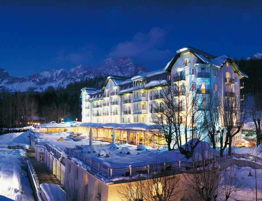 Cortina d'Ampezzo - the wonderful Hotel Cristallo Spa&Golf *****