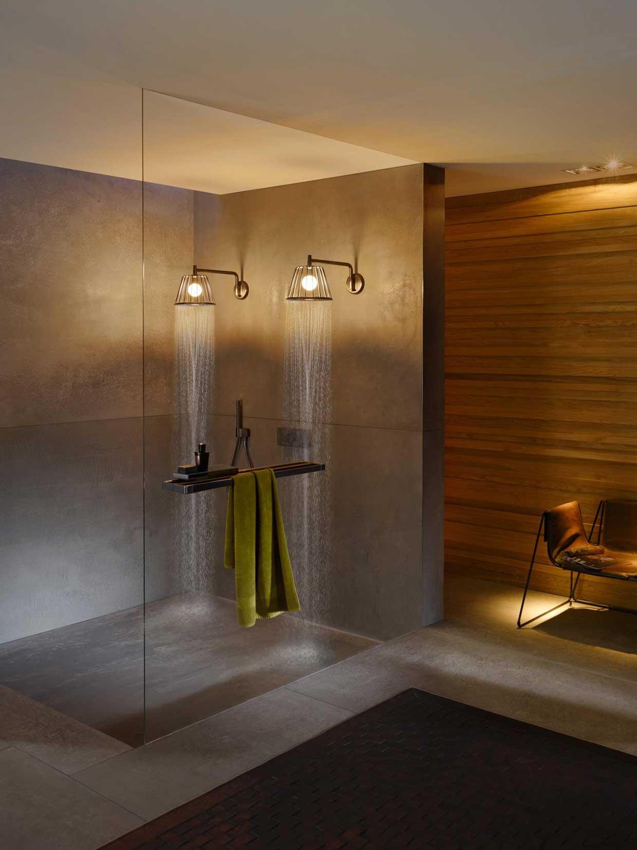 axor lamp shower by nendo fyhwl. Black Bedroom Furniture Sets. Home Design Ideas