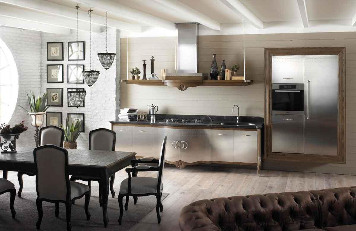 Cucine moderne dechora realizzata da marchi cucine for Arredamento cucina country