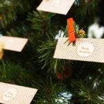 Addobbiamo il nostro Albero di Natale con i biglietti da visita MOO.com