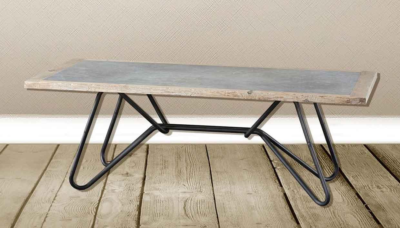 Stile industriale - tavoli tondi o rettangolari in stile industrial.