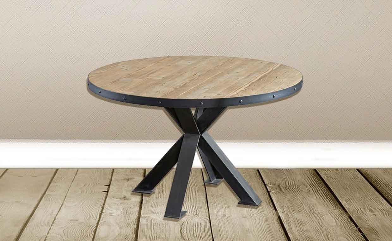 Stile industriale tavoli tondi o rettangolari in stile - Tavoli tondi ikea ...