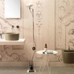 Un bagno color tortora firmato Ceramica Globo