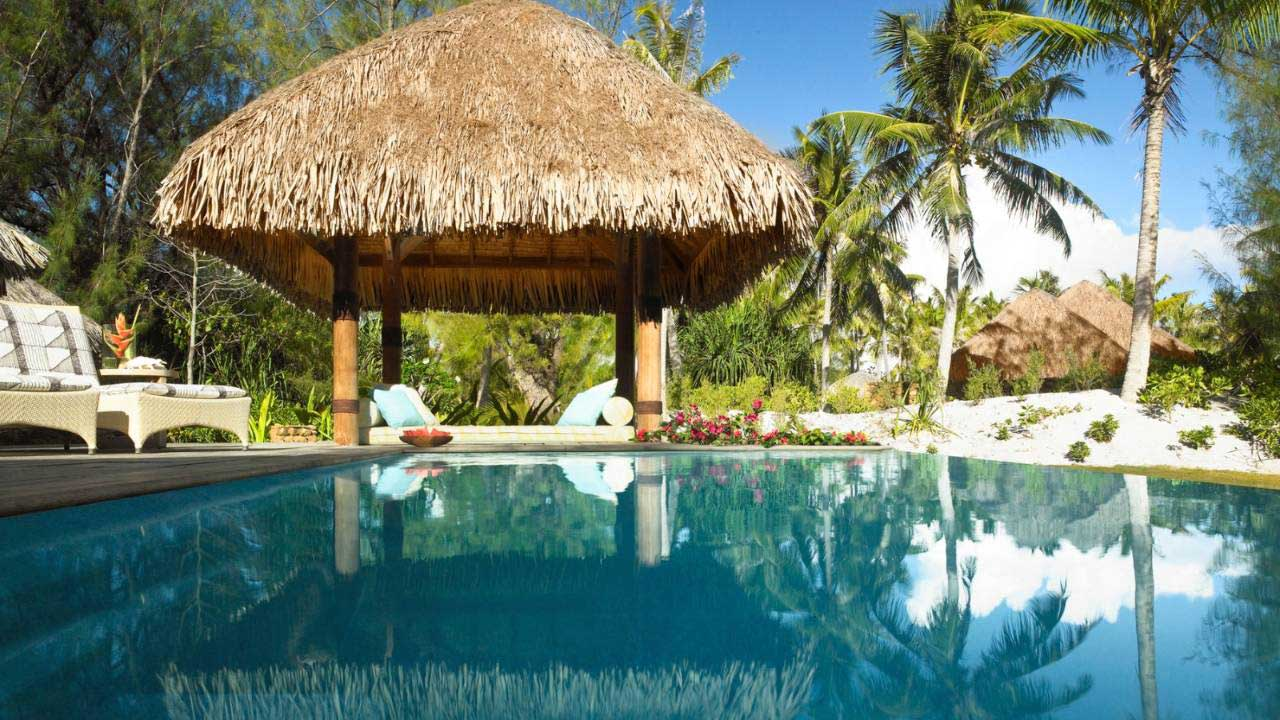 villa privata a bora bora al four season resort