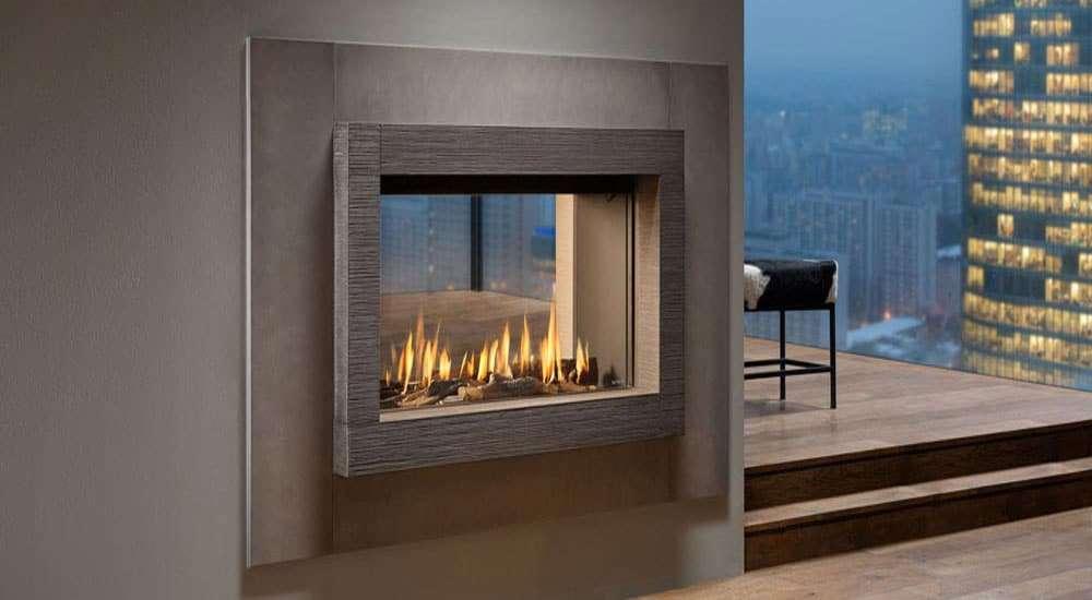 Salotto In Stile Moderno Con Parquet Interior Design : Salotto in stile moderno con camino a gas interior design