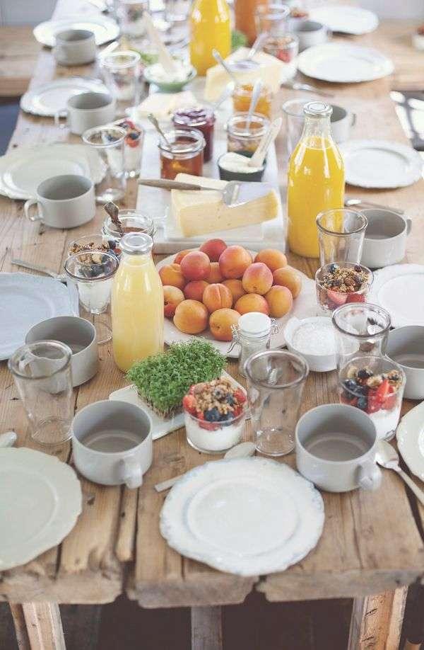 Colazione all 39 italiana come apparecchiare la tavola fyhwl - Alla tavola della longevita ...
