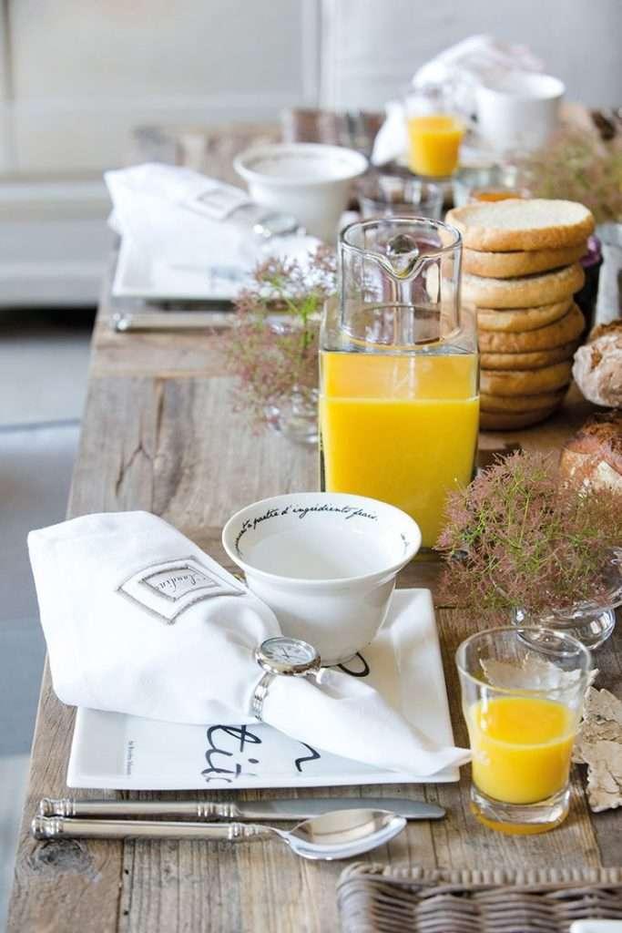 colazione italiana come apparecchiare la tavola