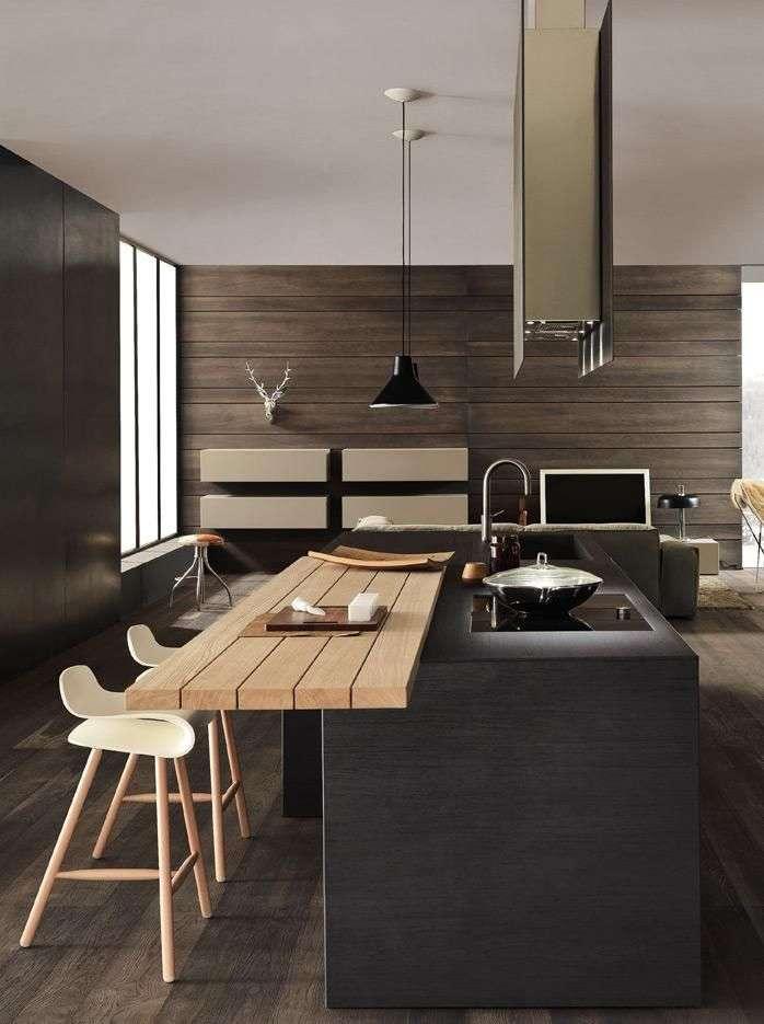Cucina con isola come organizzarla e quale scegliere fyhwl - Isola cucina con tavolo ...