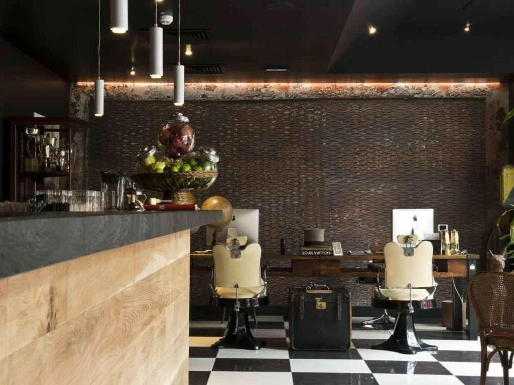 Da Milano a Noto: interior design di gentleman's club, bistrot e negozi.