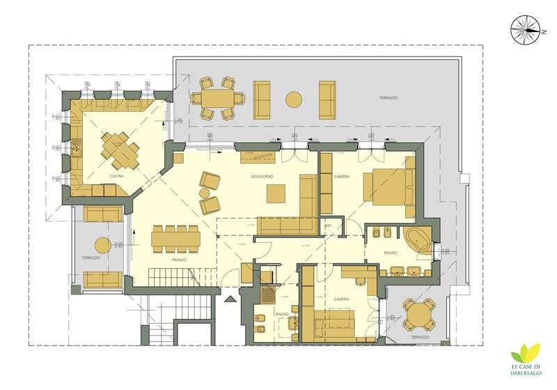 Le case di imbersago vesti la tua casa con paola marella for Le cabine progetta le planimetrie