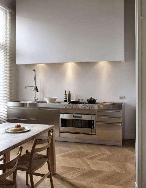 4 buoni motivi per scegliere un top in acciaio fyhwl - Coprilavello cucina acciaio ...
