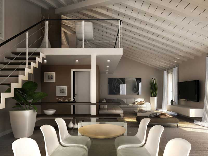 Le case di imbersago vesti la tua casa con paola marella for Piani di casa rustici con soppalco