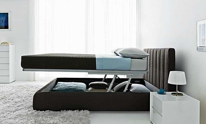 Letti Contenitore Design : Letto matrimoniale contenitore dimensioni e modelli fyhwl