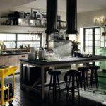 Una cucina Scavolini in stile industriale by Diesel.