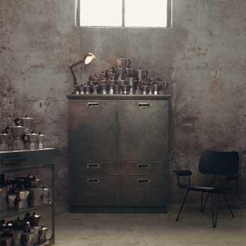 Una cucina scavolini in stile industriale by diesel fyhwl - Cucina stile industriale ...