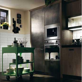 Una cucina scavolini in stile industriale by diesel fyhwl - Cucine scavolini diesel ...