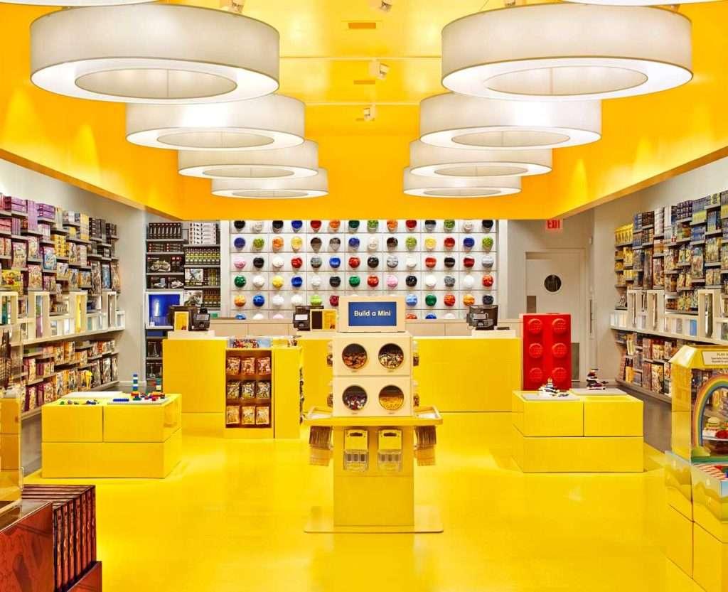 negozio lego in italia