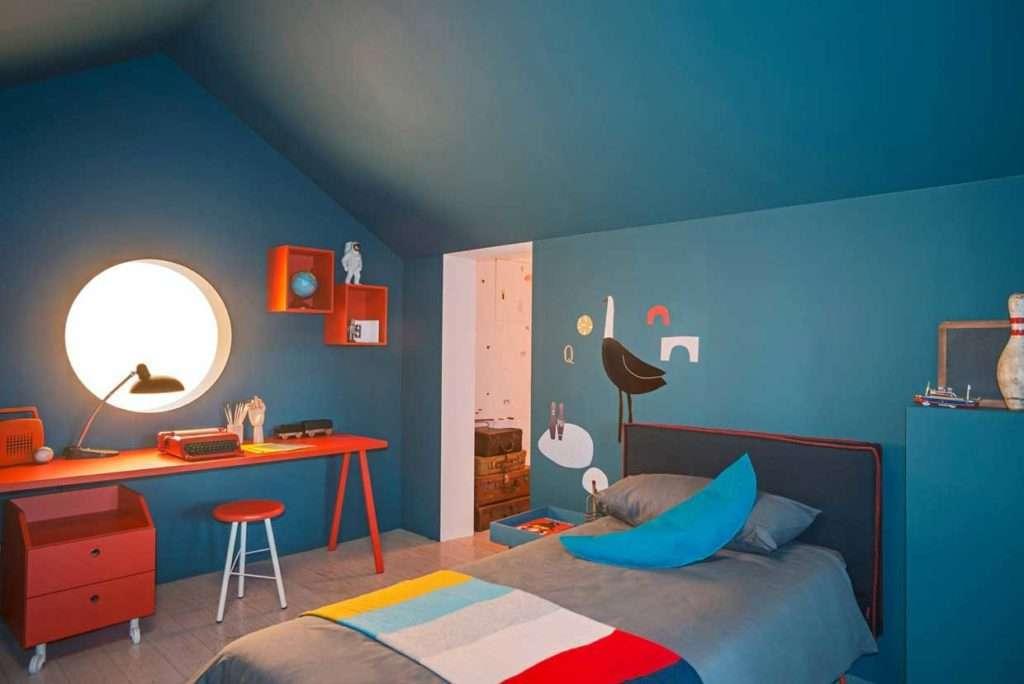 Bianco rosso e blu per le camerette per bambini nidi fyhwl - Camerette design bambini ...