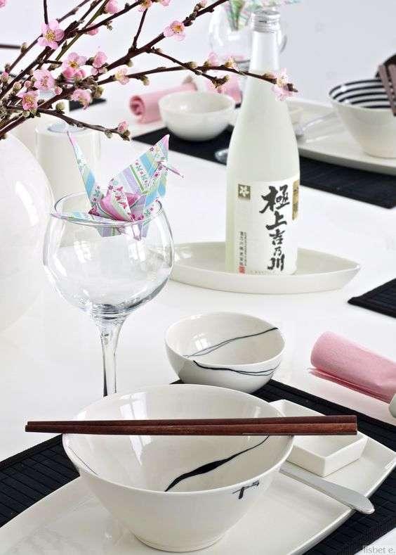Casa In Stile Giapponese : Come apparecchiare la tavola per una cena giapponese fyhwl