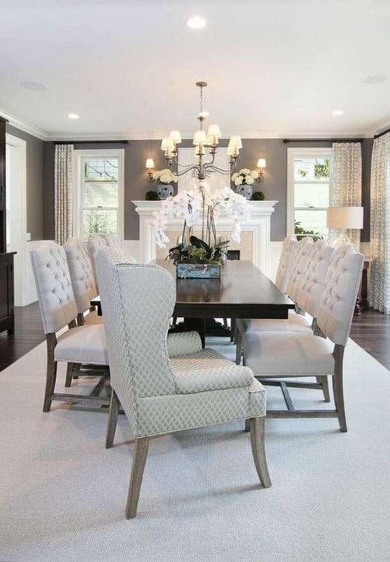 Come arredare la sala da pranzo in stile classico fyhwl - Stanza da pranzo moderna ...