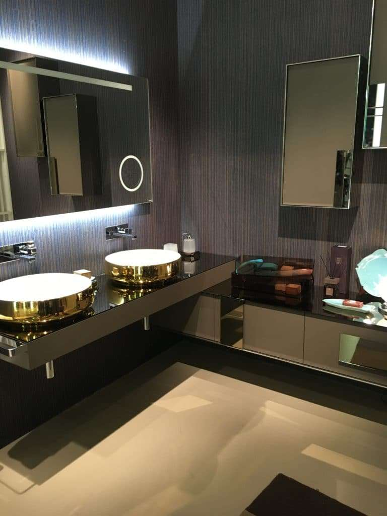inda proposte d'interni per la zona bagno