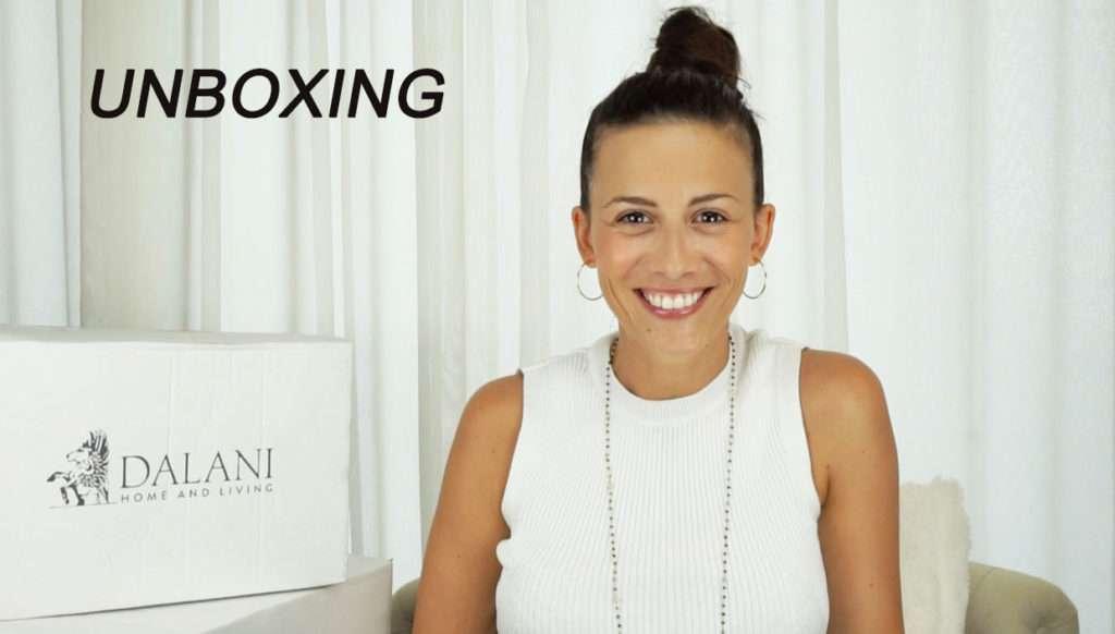 video unboxing con dalani