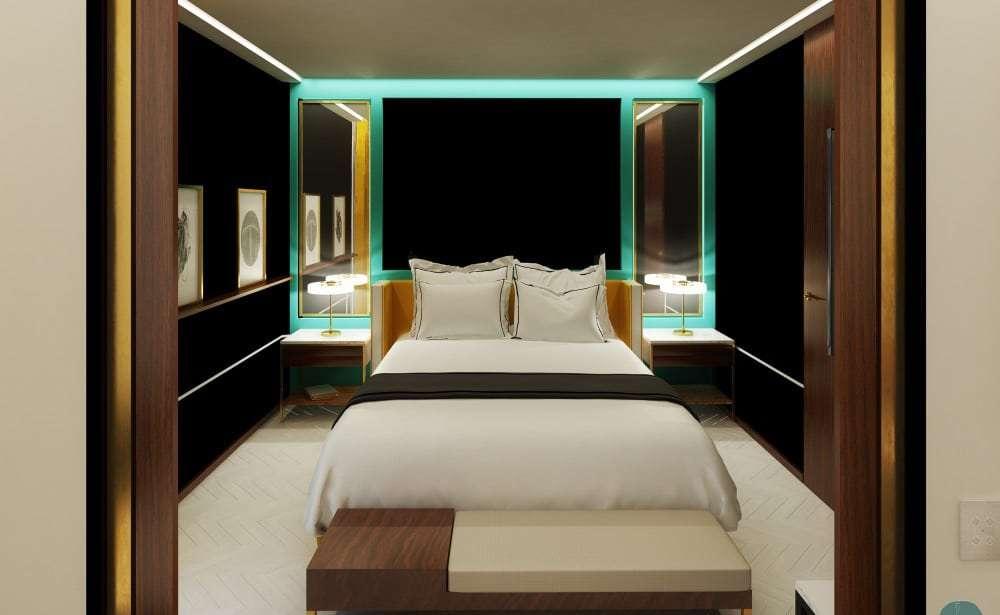 Il nuovissimo hotel le roch a parigi for Parigi hotel design