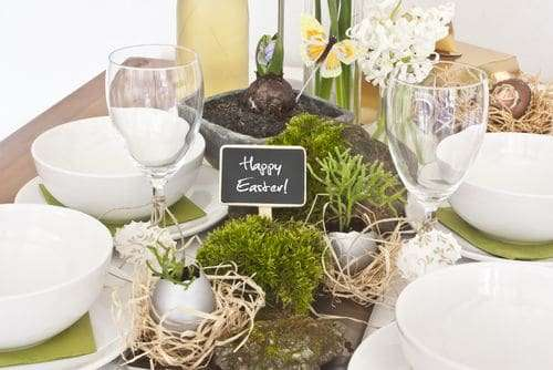 Uova decorate e coniglietti per la tua tavola di Pasqua