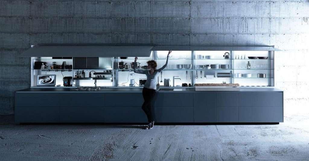 cucina artematica a scomparsa